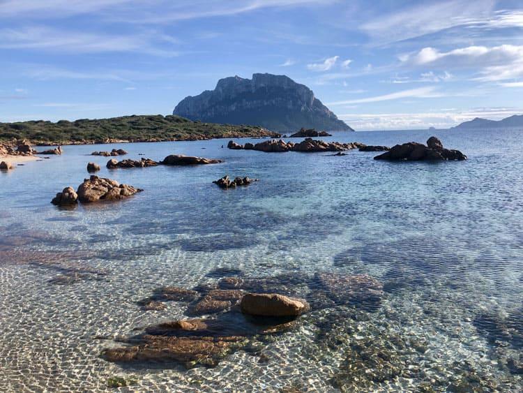 Tavolara island from Cala Girgolu