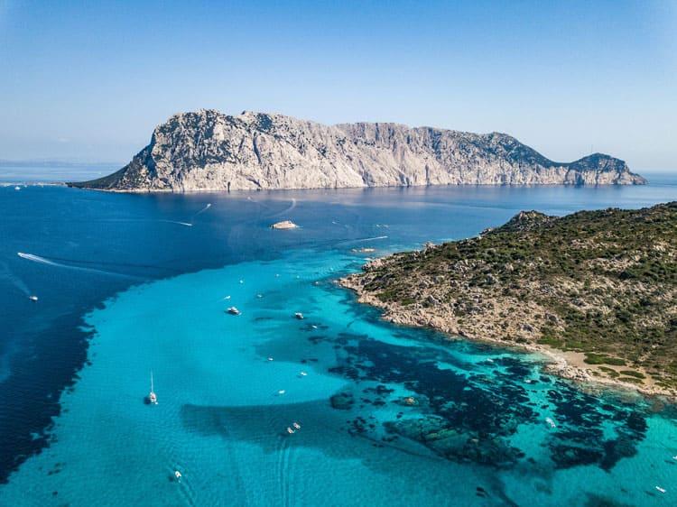 Insel Molara - Panoramablick